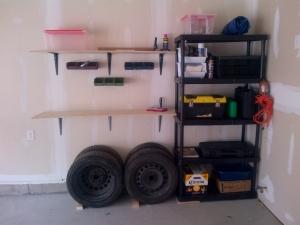 Garage After organizing