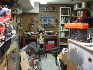 Workshop Entry View Before Organizing
