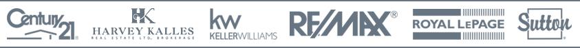 Real estate logo banner