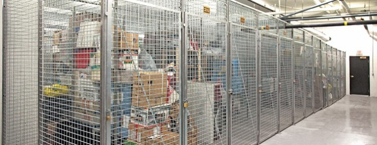 Storage Locker Organization
