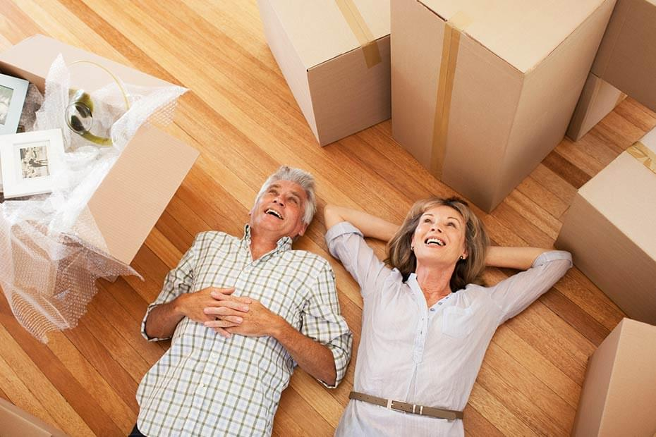 downsize when you retire