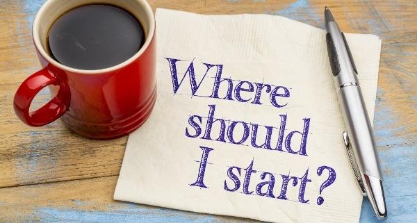 home organizing: where do I start