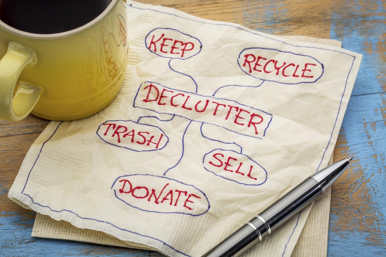 declutter like a professional organizer