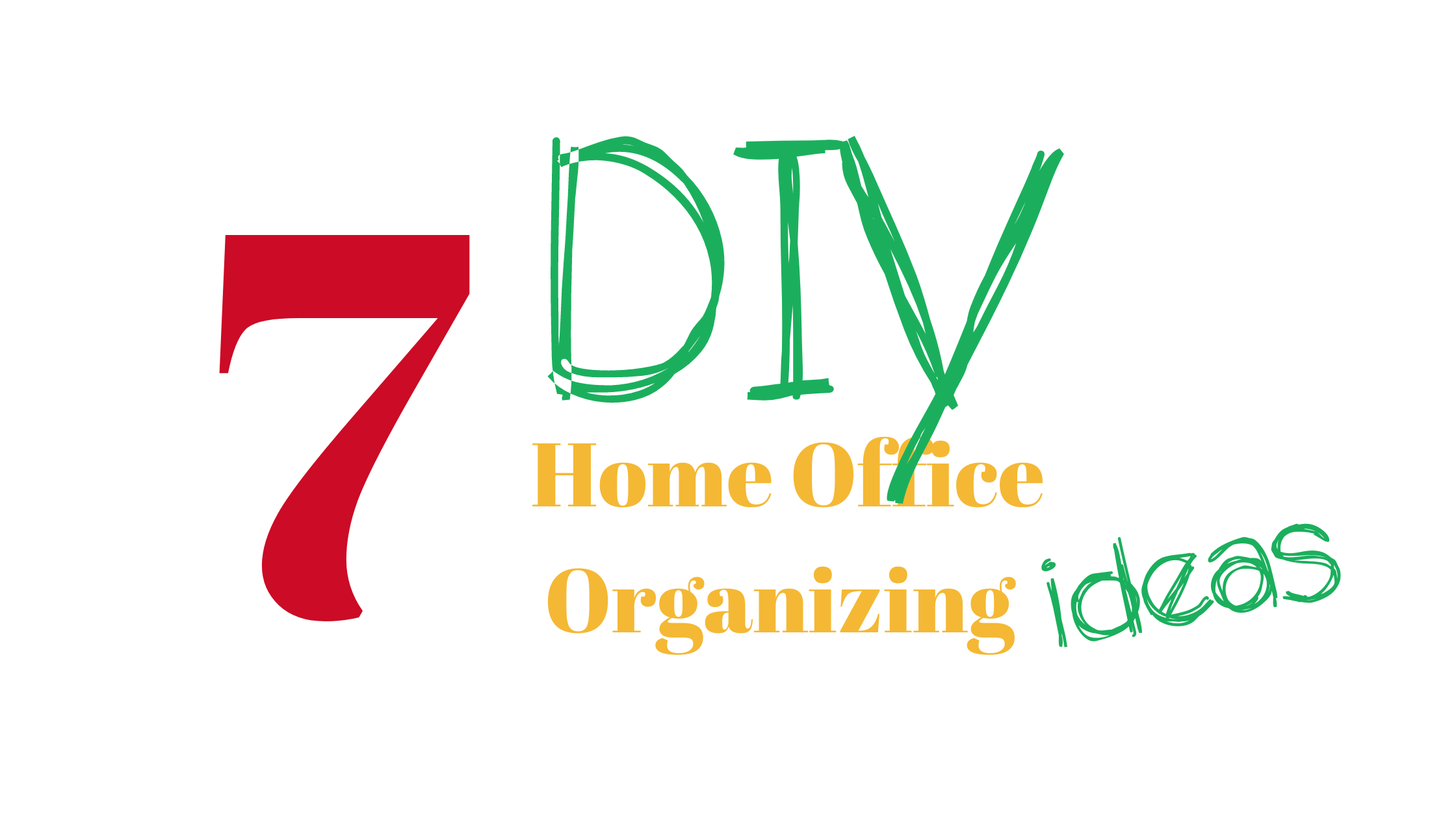 Home Office Organizing
