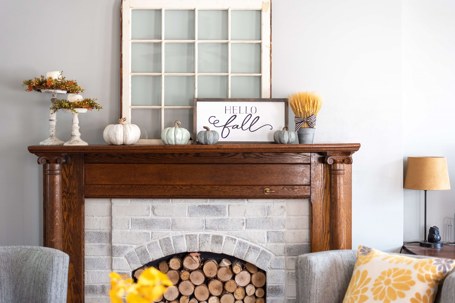 home organizing for fall