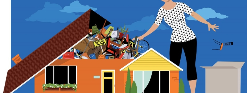 what not to do when decluttering