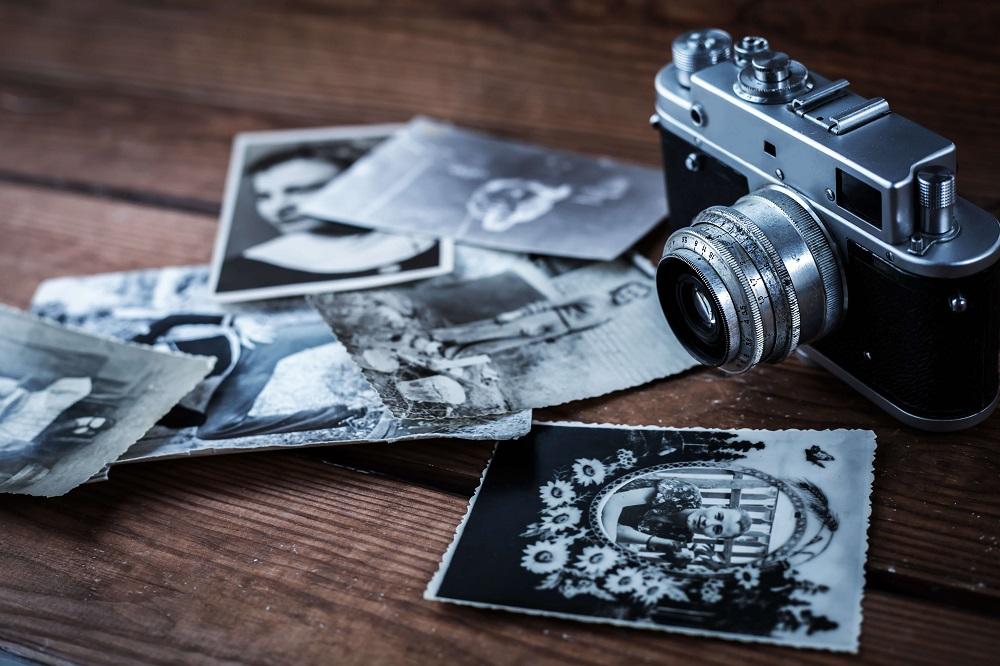organize printed photos
