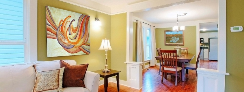 professional organizing vs home staging