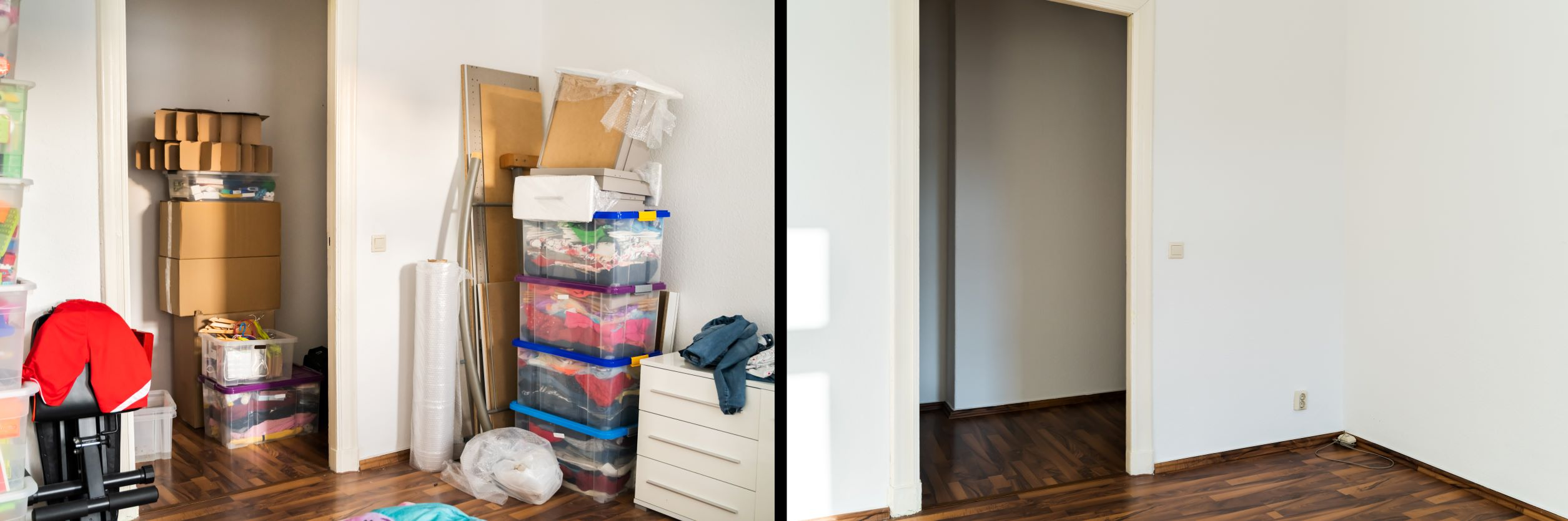Decluttering Before a Renovation
