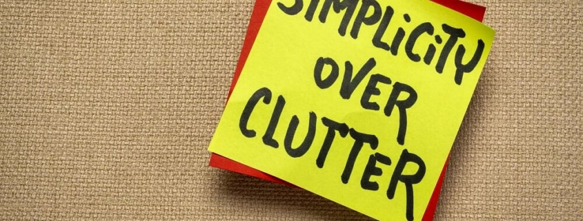 decluttering during a pandemic